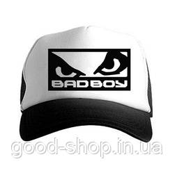 Кепка Тракер Bad Boy черная с белым