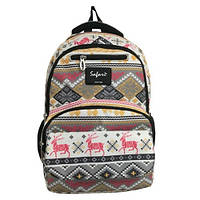 Ранец-рюкзак Safari 9775 2отделения орнамент 43*29*18 см