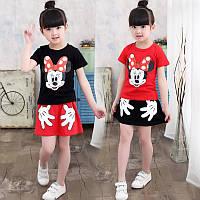 Детские Летние, модные костюмы Mickey Mouse, на девочек. Новейшая коллекция 2017г.