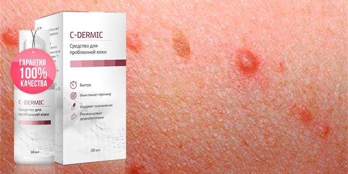 C-dermic (С-дермик) - средство от папиллом и бородавок. Цена ...