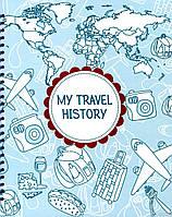Фотоальбом My Travel History. Бордовый