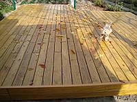Палубна терасна дошка Акація гладка клеєна, фото 1