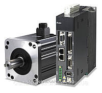 Комплект сервопривода A2, 1,5кВт, 1-ф, 230В, c тормозом, номин.момент 7,16Нм., 2000об./мин. энкодер 20 бит
