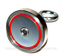 Односторонний сильный поисковый магнит F=300 кг