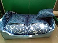 """Спальное место, лежак для собак и кошек """"Кроватка 2"""" 70х56х21см"""