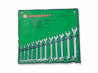 Набор ключей комбинированных 8-22мм, 12 предметов, W26112S (Jonnesway, Тайвань)