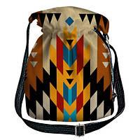 Яркая сумка торба женская Этно мотивы