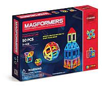 Магнитный конструктор 50 элементов, Базовый набор, Magformers