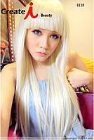 Шикарный парик,длинные волосы,блонд.Kanekalon 162