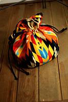 Рыжая сумка торба женская с принтом Этно