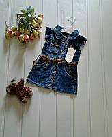 Детский джинсовый сарафан Турция