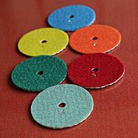 Алмазный круг № 1 для сухой полировки d 80mm, фото 1