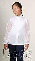 Шикарная блуза на девочку в школу 1983