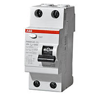 Диф.вимикач навантаження  FH202AC-25/0.03 2P 25A 30mA ABB