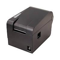 Принтер этикеток, термопринтер штрих кодов, QR кодов Xprinter XP-235B 60mm