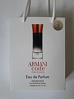 Мини парфюм Giorgio Armani Armani Code Profumo в подарочной упаковке 50 ml