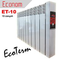 Энергосберегающие батареи отопления электрические EcoTerm ET-10