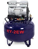Компрессор стоматологический AY-2EW-40 для 2-х установок, 840W, 105L