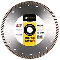 Круг алмазный Turbo Baumesser Universal 230 мм отрезной диск по бетону, кирпичу и тротуарной плитке