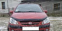 Дефлектор Хендай Гетц (мухобійка на капот Hyundai Getz)