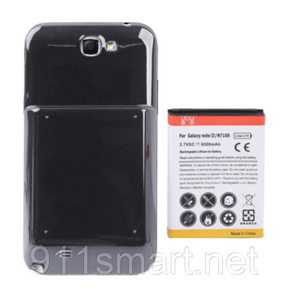 Усиленный аккумулятор Samsung Galaxy Note 2 / N7100 6500mah