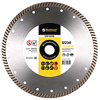 Круг алмазный Turbo Baumesser Universal 125 мм отрезной диск по бетону, кирпичу и тротуарной плитке