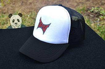 Спортивная кепка Tapout, Тапаут, тракер, летняя кепка, мужская, женская, белого и черного цвета, копия