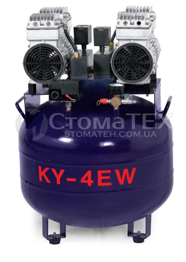 Компрессор стоматологический AY-4EW-65 для 4-х установок, 1680W, 210L