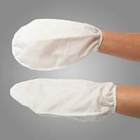 Перчатки однослойные для парафинотерапии из спанлейса для рук Doily (5 пар в упаковке)