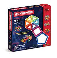 Магнитный конструктор 62 элементов, Базовый набор, Magformers