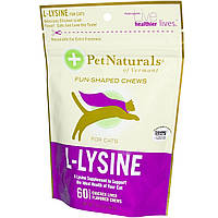 Pet Naturals of Vermont, L-Lysine for Cats, Chicken Liver, 60 Chews, 3.74 oz (90 g)
