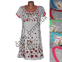 Женская котоновая ночная рубашка 07 оптом со склада в Одессе.