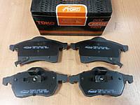 """Гальмівні колодки передні Opel Astra F 1.4-1.6; Astra G 1.6-2.2 1998-2009 """"ТОКО"""" - виробництва Польщі, фото 1"""