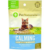 Pet Naturals of Vermont, Успокаивающее средство для кошек, 30 жевательных таблеток, 1,59 унции (45 г)