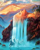 Набор алмазной мозаики Величественный водопад 40 х 30 см (арт. FS501)