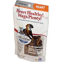 Ark Naturals, Здоровая мордочка! Здоровье сердца! Виляние хвостом!, средство для сердца для пожилых собак, 60 крохотных мягких жвачек, 120 г (4,23