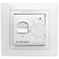 Терморегулятор механический белый Terneo mex