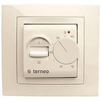 Терморегулятор механический бежевый Terneo mex
