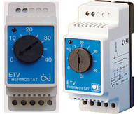 Терморегулятор механический на DIN рейку OJ Electronics ETV-1991