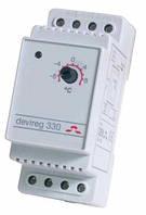 Терморегулятор механический на DIN рейку Devi 330