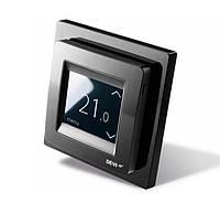 Терморегулятор программируемый - сенсорный Devireg Touch черный