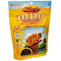 Zukes, Mini Naturals, полезное угощение для маленьких собак, жаркое из курицы, 6 унций (170 г)