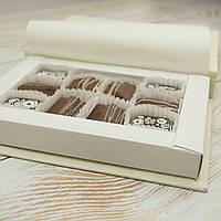"""Набор шоколадных конфет """"Гармония желаний"""" 16/7,вес 165гр элитный шоколад, фото 1"""