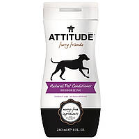 ATTITUDE, Furry Friends, Natural Pet-Conditioner, Deodorizing, Coconut Lime, 8 fl oz (240 ml)