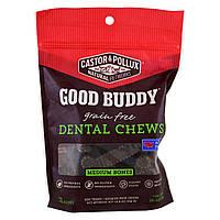Castor & Pollux, Good Buddy, игрушки для здоровья зубов, косточки среднего размера, для собак, 12 косточек