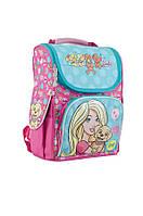553265 Рюкзак каркасный Н-11 Barbie mint, 34*26*14