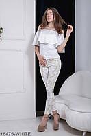 Жіноча блузка Milena (18475-WHITE)