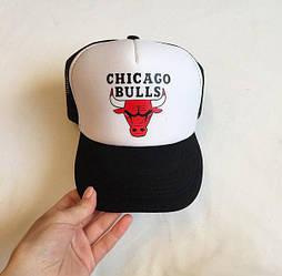 Спортивная кепка Chicago Bulls, тракер, летняя кепка, мужская, женская, белого и черного цвета, копия