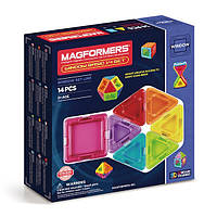 Магнитный конструктор Супер 3Д, 14 элементов, Серия Заполненные детали, Magformers