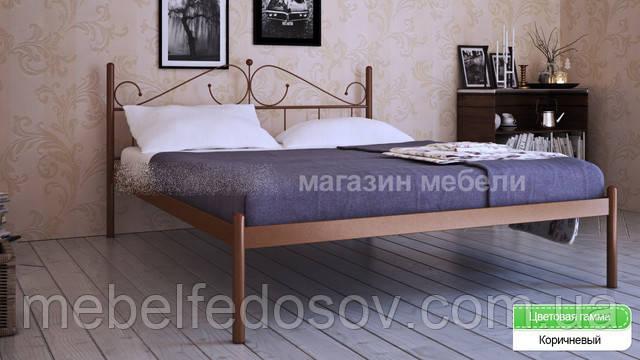 металлическа кровать розана метакам